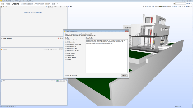 BIM Manager | Checking Choose rules