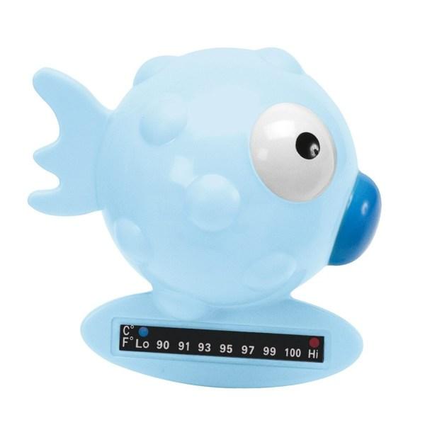 Termometro da bagno azzurro