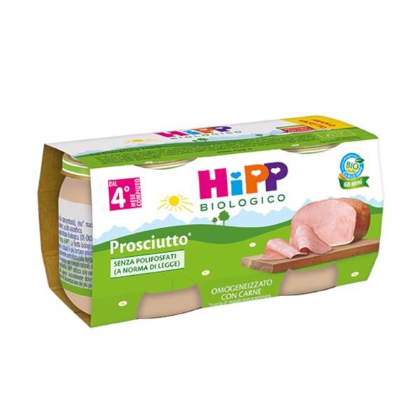 Hipp Omogenizzati Carne Prosciutto 2x80g