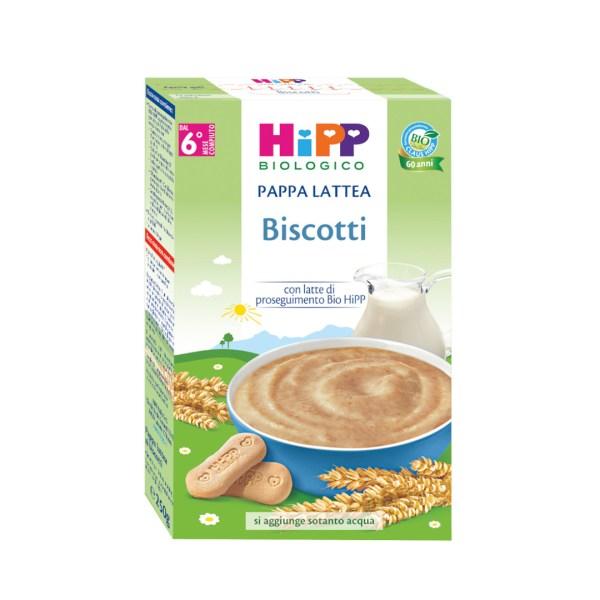 Hipp Pappa Lattea Biscotti 250g