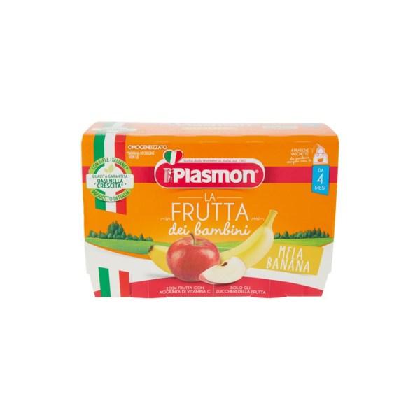 Plasmon La Frutta Dei Bambini Mela Banana 4x100g