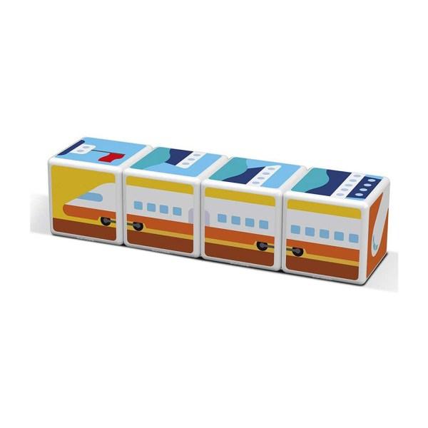 Geomag Magicube Transport treno