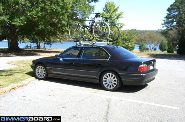 I Use Bmws Roof Rack I Like It Because It Does Not Touch Paint
