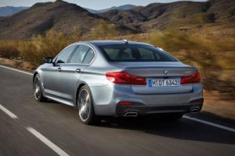2017 BMW 5 Series Rear