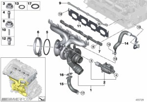 B48 Engine (330i) Technical Diagrams and Details