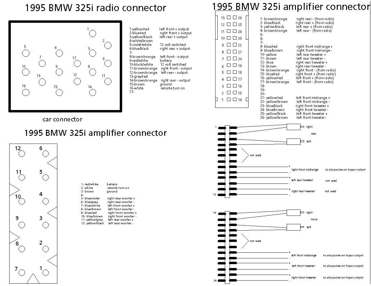 E46 Wiring Schematic