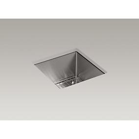 mount bar sink with basin rack
