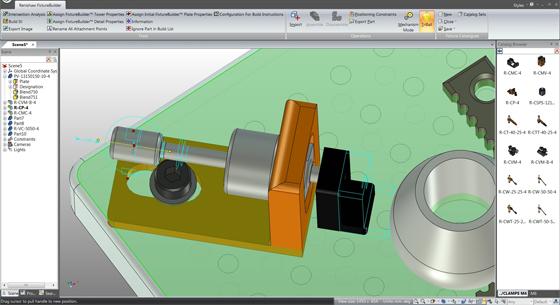 FixtureBuilder – The newest 3d modeling program for CAD professionals