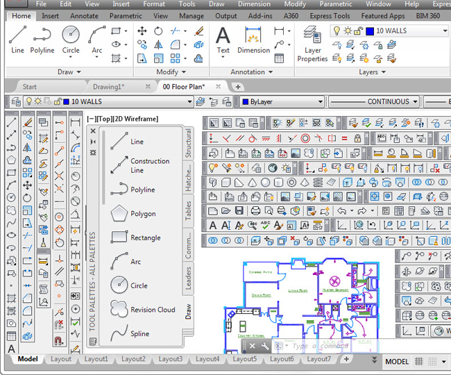 Some useful tips on Autocad user interface