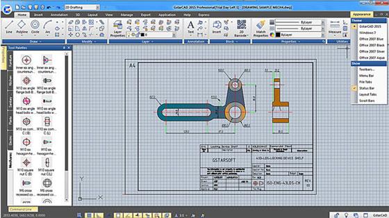 ACAD Pte Ltd unveils the newest version of its 2D & 3D CAD software alias GstarCAD 2015