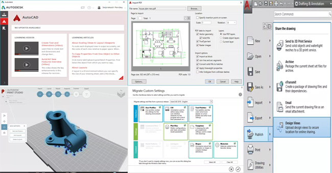 Top six vital features of AutoCAD 2017