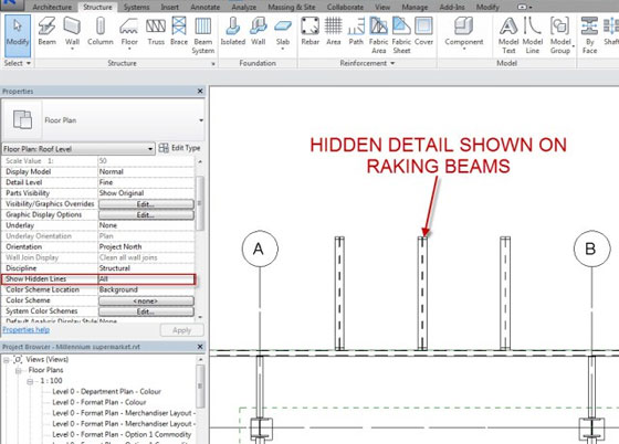 Revit 2015 – Hidden Detail Control