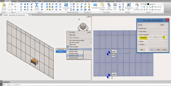 Revit Transparency in Elevation or Section Views