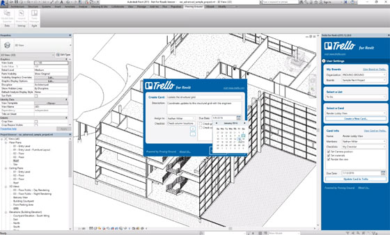 Trello For Revit