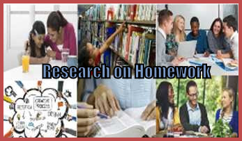 Research on homework