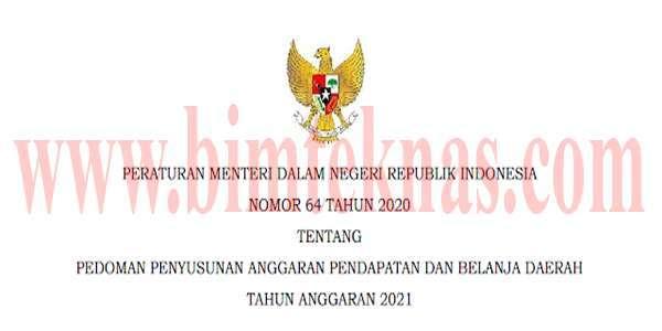 Bimtek Permendagri No 64 Tahun 2020