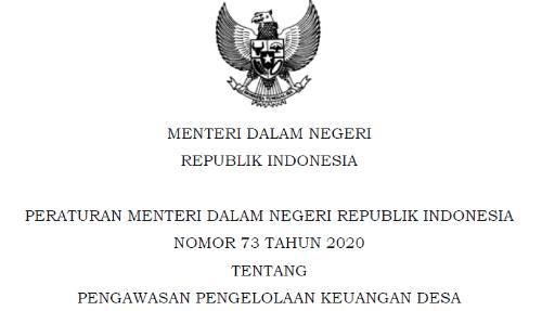 Bimtek Pengawasan Pengelolaan Keuangan Desa Sesuai Permendagri No 73 Tahun 2020