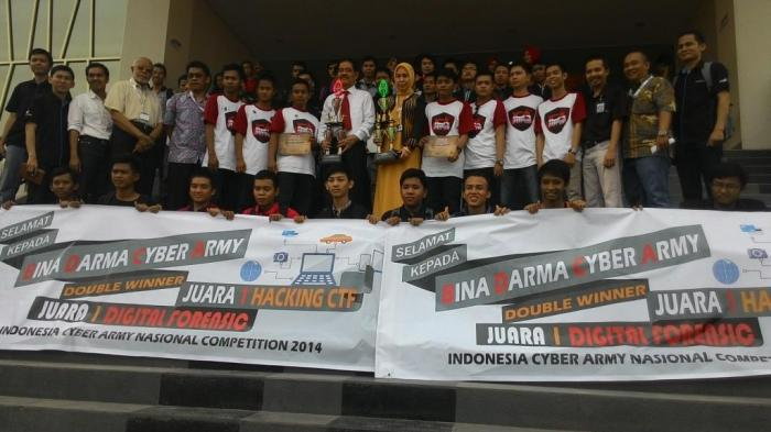 Double Winner kompetisi Indonesia Cyber Army 2014
