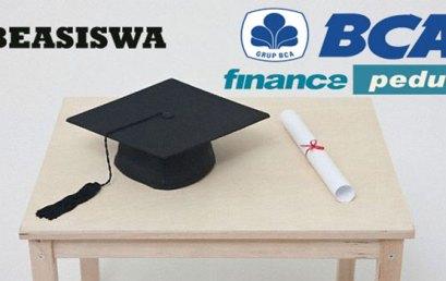Beasiswa BCA Finance Periode Tahun 2016