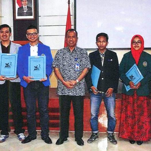 Mahasiswa UBD raih peringkat 4 sebagai mahasiswa berprestasi Kopertis Wilayah 2 Palembang