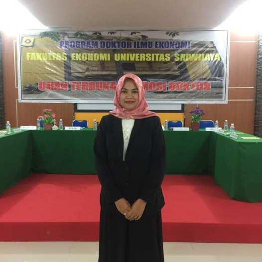 Ucapan Selamat atas Keberhasilan Mencapai Gelar Doktor Kepada Dr. Dina Mellita, S.E., M.Ec.