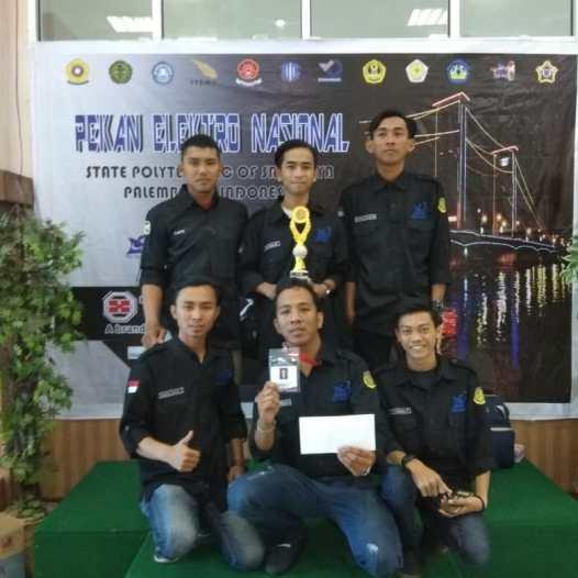 Tim Mahasiswa Bina Darma meraih Juara 2 untuk perlombaan Line Follower dan juara 4 dan 5 untuk perlombaan  PLC Tingkat Nasional