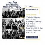 The 6th Bina Darma Rector's Trophy  Closed Registration