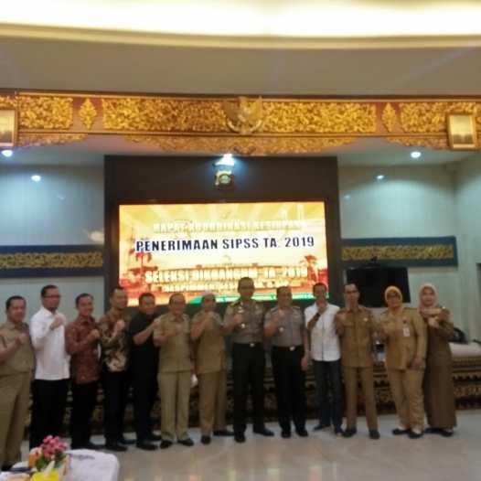 Universitas Bina Darma Menghadiri Rapat Koordinasi Kesiapan Penerimaan SIPSS TA 2019