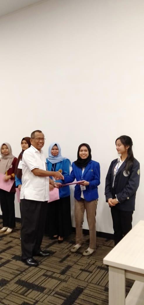 Mahasiswa Universitas Bina Darma juara ke-4 Mahasiswa Berprestasi Tingkat LLDIKTI Wilayah II