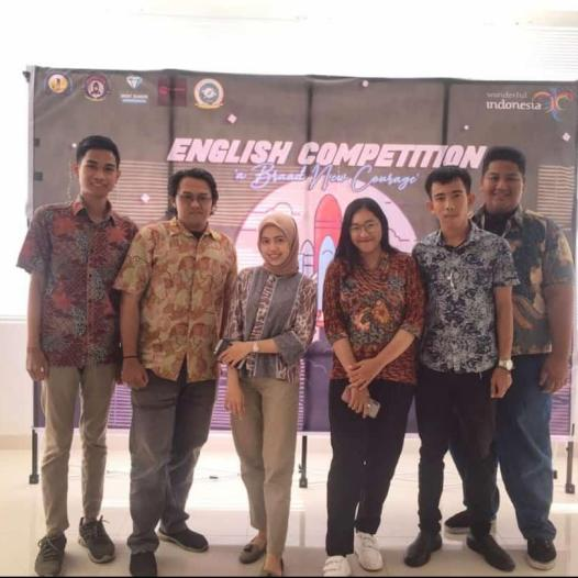 Tim Debat Universitas  Bina Darma  Juara 1 dan Juara 3 English Competition
