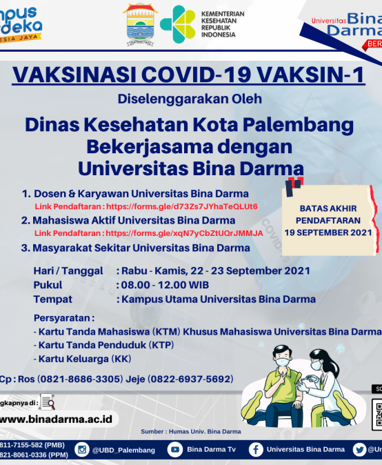 VAKSINASI COVID-19 DOSIS-1