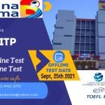 PENDAFTARAN TOEFL ITP BINA DARMA UNIVERSITY