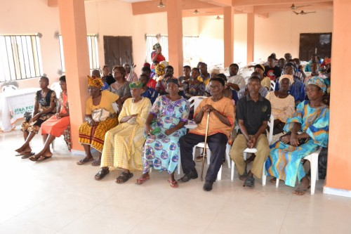 Cross section of special needs persons at Nnewi, Anambra State