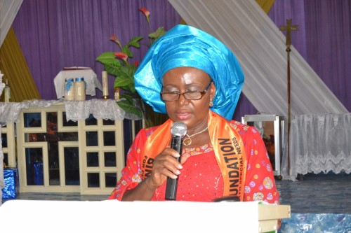 President, Bina Foundation, gives thanks to God for direction and sustenance