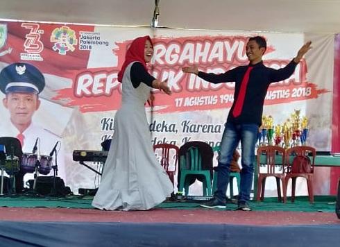 Panggung Hiburan dalam Rangka Peringatan HUT ke 73 RI Tahun 2018
