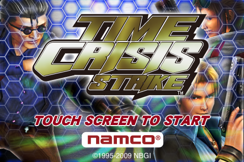 Time Crisis Strike Title