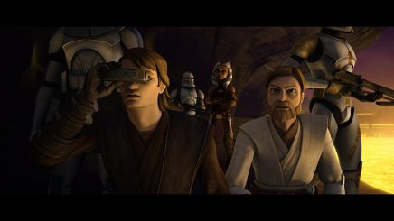 Obi-Wan Kenobi, Anakin Skywalker, Commander Cody