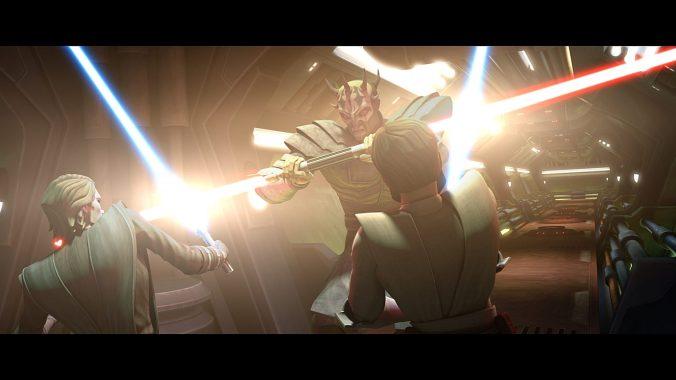 Savage Opress, Anakin Skywalker, Obi-Wan Kenobi