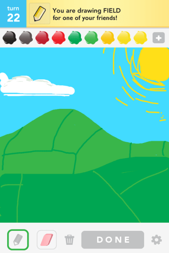 Draw Something - Field