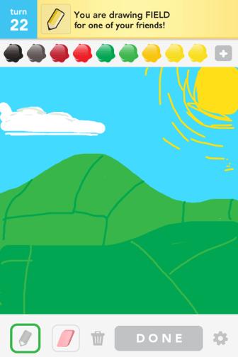 Draw Something - Field