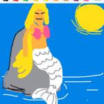 Draw Something - Mermaid