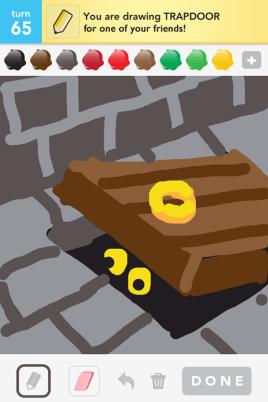 Draw Something - Trapdoor