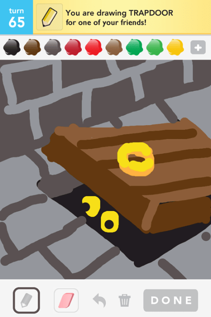 Draw Something - Trapdoor