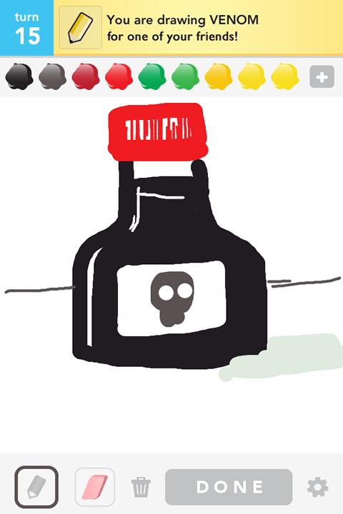 Draw Something - Venom