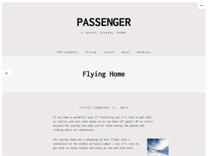 passenger-single