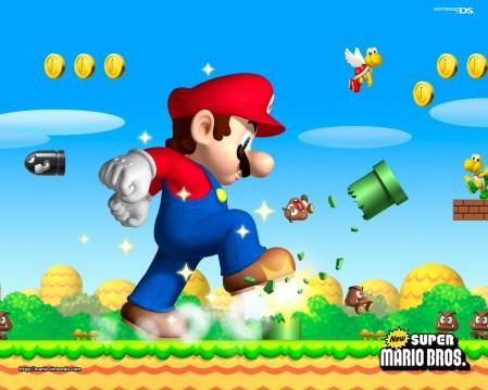 New Super Mario Brothers - Giant Mario