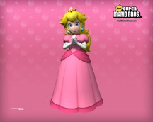 New Super Mario Brothers - Princess Peach