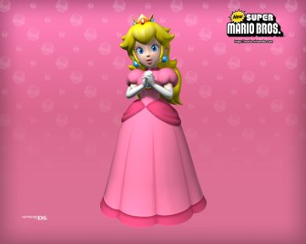 New Super Mario Brothers - Princess Peach