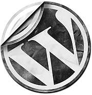 wordpress-logo-torn-paper