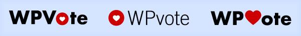 wpvote logo concepts